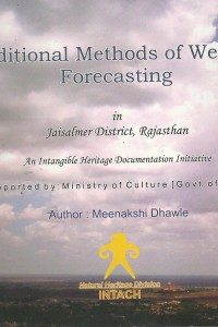 Traditional methods of weather forecasting