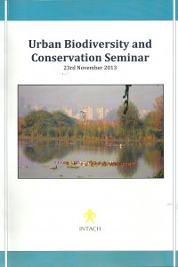 urban biodiversity and conservation seminar