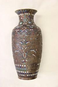 Metal vase- after